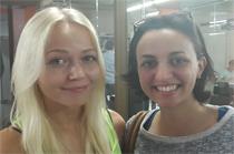 Giulia Pistone y Mari Luukko - Rusia. Alicante