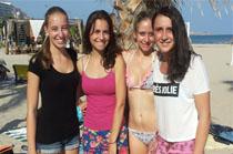 Anna Blasche, Carina Reinprecht, Selina Maucher y Marlies Hilebrand - Alemania. Alicante