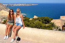 Hannah and Joelle - Alemania. Alicante
