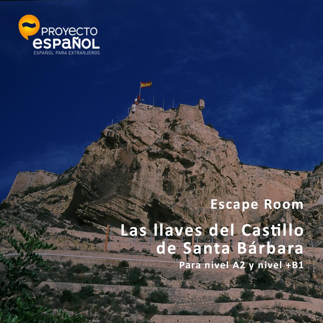 Escape Room - Las llaves del Castillo de Santa Bárbara