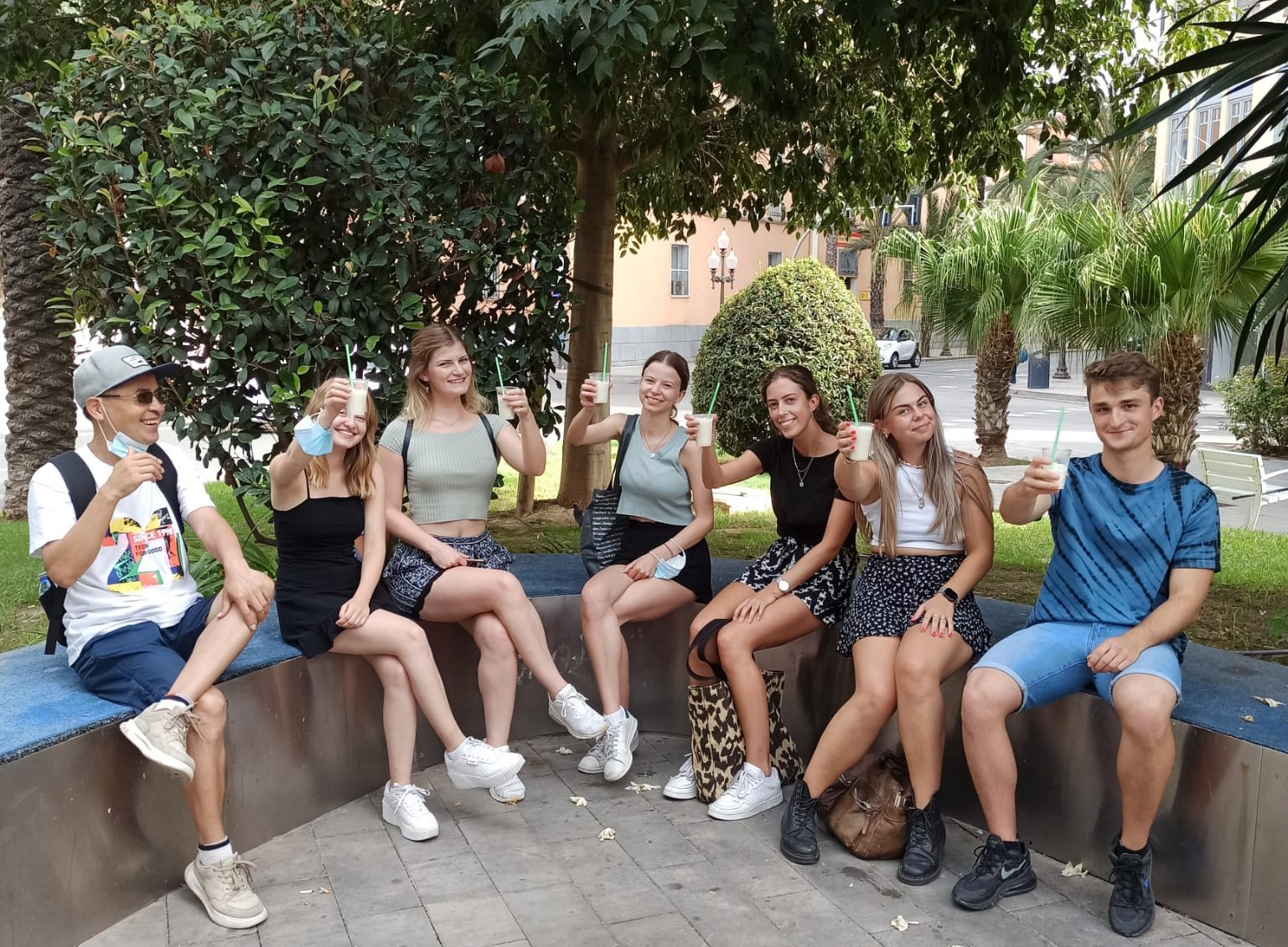 horchata students